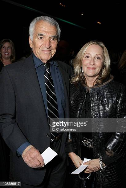 Laura Ziskin and Alvin Sargent at AMC's 22nd Annual American Cinematheque Award at the Beverly Hilton Hotel on October 12 2007 in Beverly Hills...