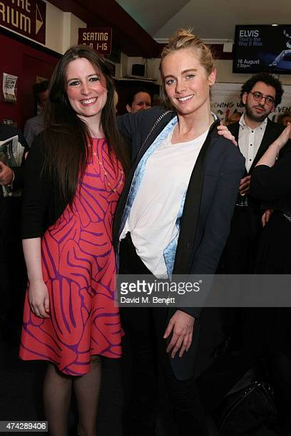 LauraJane Foley and Cressida Bonas attend the press night performance of 'An Evening With Lucian Freud' at the Leicester Square Theatre on May 21...