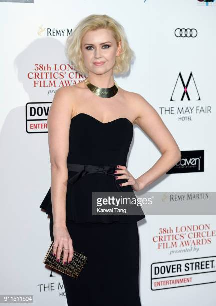 LauraJean Marsh attends the London Film Critics Circle Awards 2018 at The May Fair Hotel on January 28 2018 in London England