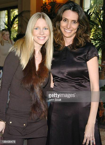 Lauralee Bell and Elizabeth Stewart during PS Arts' 2nd Annual 'Bag Lunch' Ladies of Los Angeles Shop for Charity at Private Residence in Beverly...