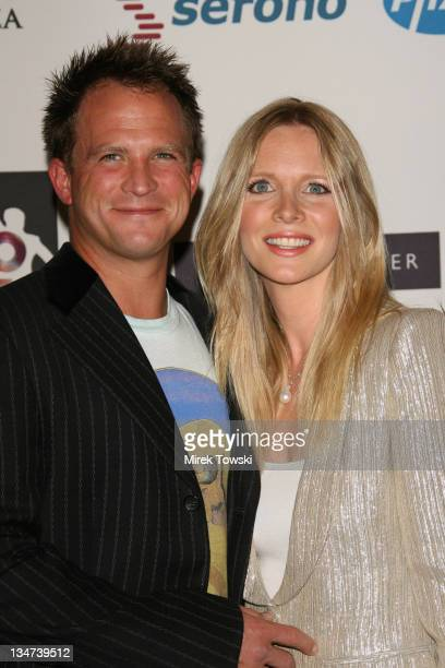 Lauralee Bell and her husband Scott Martin during 'Disco Fever to Erase MS' 13th Annual Race to Erase MS at Hyatt Regency Century Plaza Hotel in...