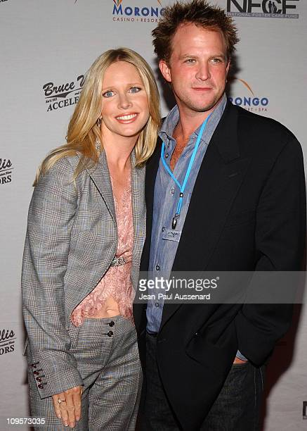 Lauralee Bell and husband during Bruce Willis and The Accelerators in Concert at Avalon Hollywood to Benefit the National Foster Care Fund Arrivals...