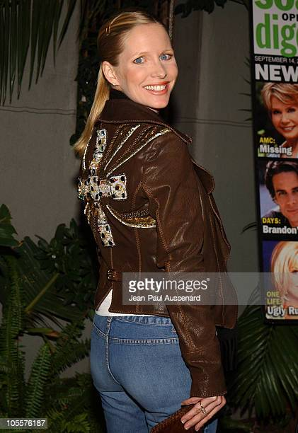 Lauralee Bell during 19th Annual Soap Opera Digest Awards Reception Arrivals at White Lotus in Hollywood California United States