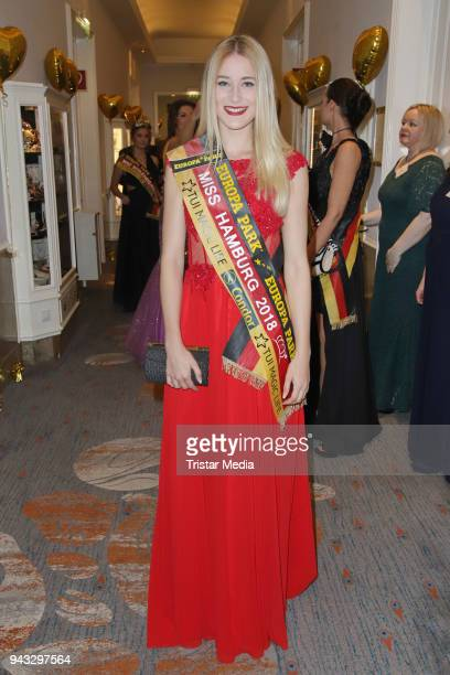 LauraSophie Hering during the 21st Blauer Ball at Hotel Atlantic on April 7 2018 in Hamburg Germany