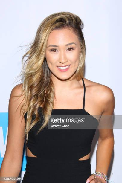 LaurDIY arrives to WE Day Toronto and the WE Carpet at Scotiabank Arena on September 20 2018 in Toronto Canada