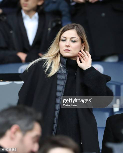 Laure Boulleau attends the French Ligue 1 match between Paris SaintGermain and AS NancyLorraine at Parc des Princes on March 4 2017 in Paris France