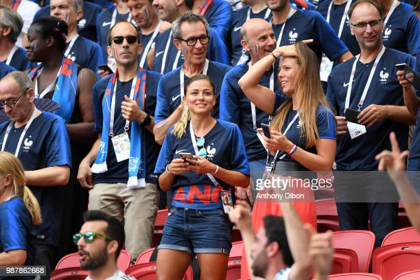 Laure Boulleau during the FIFA World Cup Round of 16 match between France and Argentina at Kazan Arena on June 30 2018 in Kazan Russia