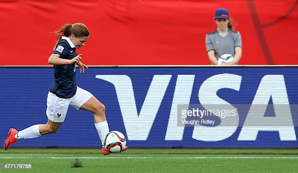 Laure Boulleau of France during the FIFA Women's World Cup Group F match between France and Colombia at Moncton Stadium on June 13 2015 in Moncton...