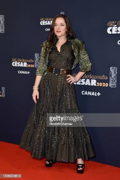 Laure Calamy arrives at the Cesar Film Awards 2020 Ceremony At Salle Pleyel In Paris on February 28, 2020 in Paris, France.