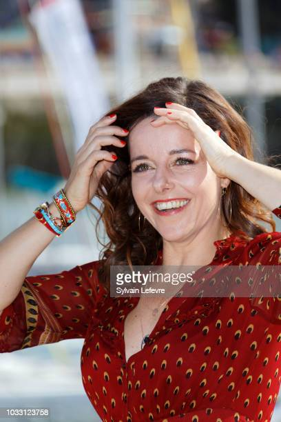 Laure Calamy attends day 3 photocall of 20th Festival of TV Fiction on September 14 2018 in La Rochelle France