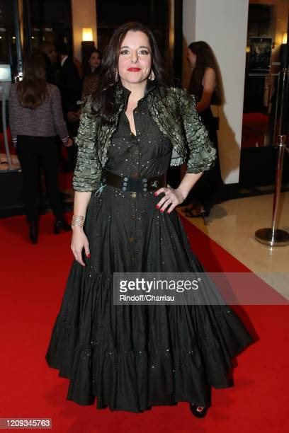 Laure Calamy attends the Cesar Film Awards 2020 Ceremony at Salle Pleyel In Paris on February 28, 2020 in Paris, France.