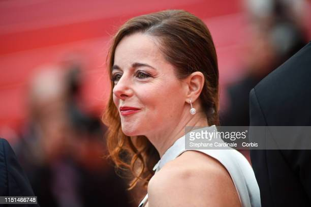 Laure Calamy attends the screening of Sibyl during the 72nd annual Cannes Film Festival on May 24 2019 in Cannes France