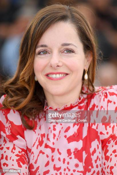 Laure Calamy attends the photocall for Sibyl during the 72nd annual Cannes Film Festival on May 25 2019 in Cannes France