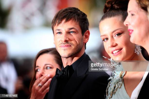 "Laure Calamy, Gaspard Ulliel and Adele Exarchopoulos attend the screening of ""Sibyl"" during the 72nd annual Cannes Film Festival on May 24, 2019 in..."