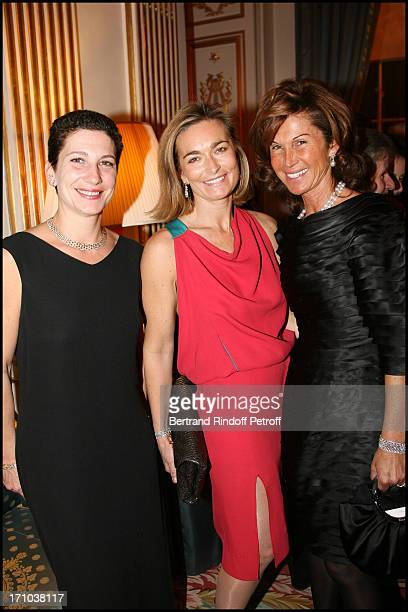 Laure Darcos Fabienne Bazire Sylvie Rousseau at The Traditional Christmas Dinner At The British Embassy In Paris
