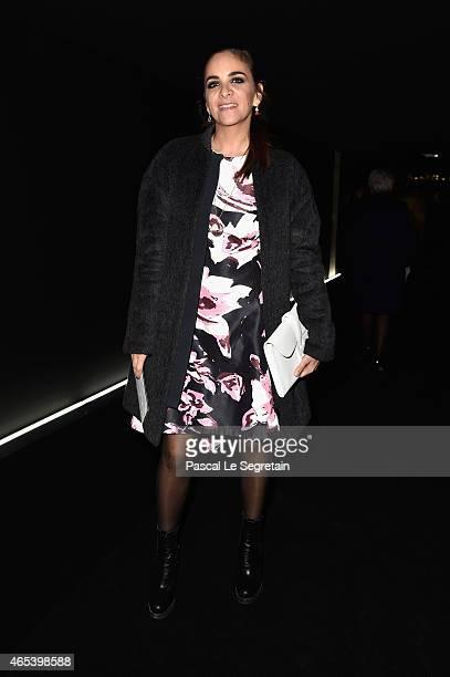 Laure de Broglie attends the Balenciaga show as part of the Paris Fashion Week Womenswear Fall/Winter 2015/2016 on March 6 2015 in Paris France
