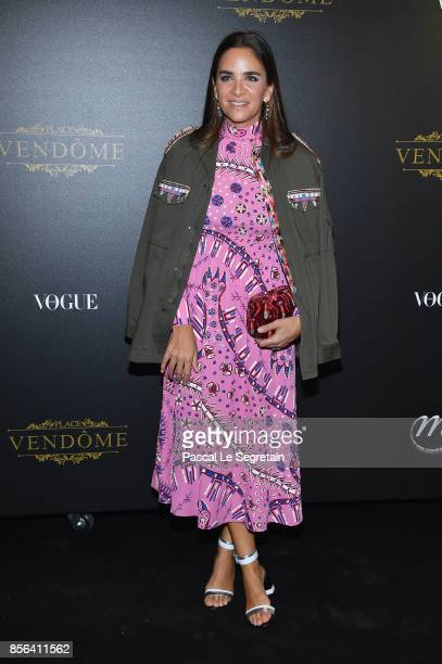 Laure de Broglie attends the Irving Penn Exhibition Private Viewing Hosted by Vogue as part of the Paris Fashion Week Womenswear Spring/Summer 2018...