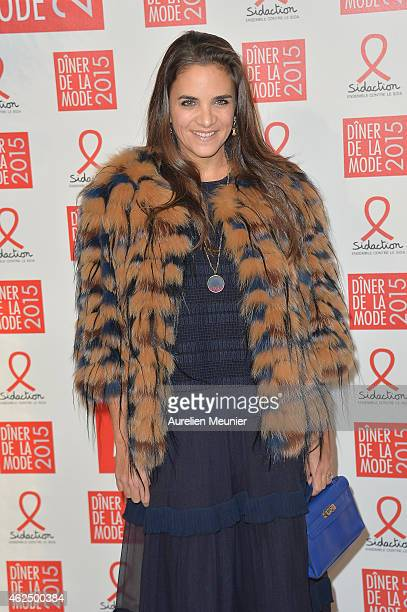 Laure de Broglie attends the Sidaction Gala Dinner 2015 at Pavillon d'Armenonville on January 29 2015 in Paris France