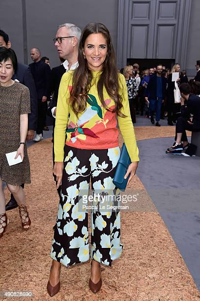 Laure Heriard Dubreuil attends the Chloe show as part of the Paris Fashion Week Womenswear Spring/Summer 2016 on October 1 2015 in Paris France