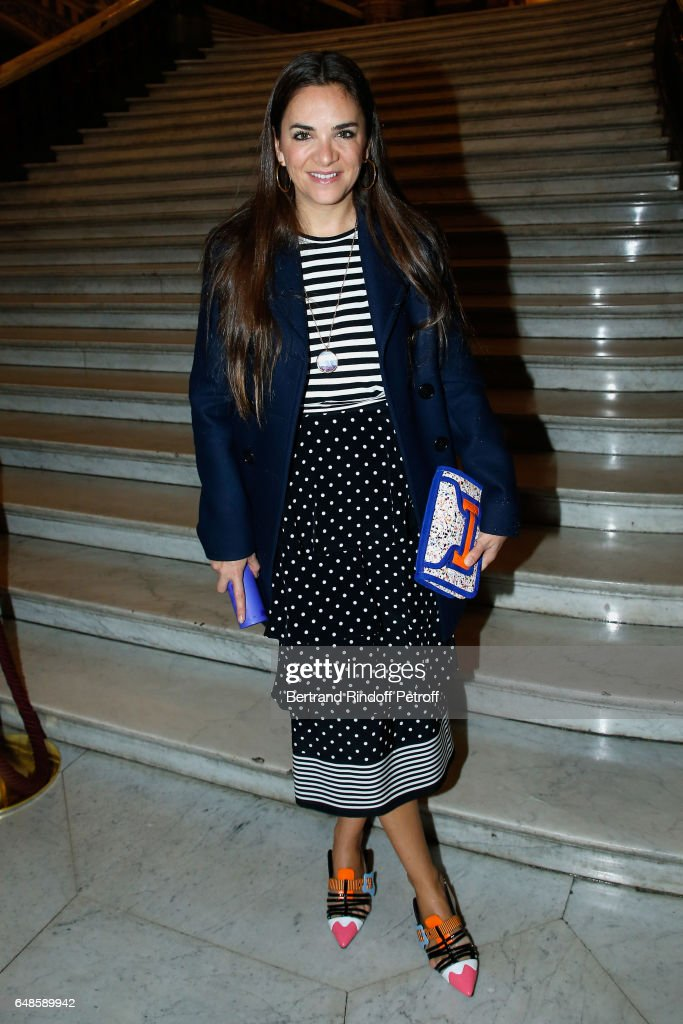 Laure Heriard Dubreuil attends the Stella McCartney show as part of the Paris Fashion Week Womenswear Fall/Winter 2017/2018 on March 6, 2017 in Paris, France.