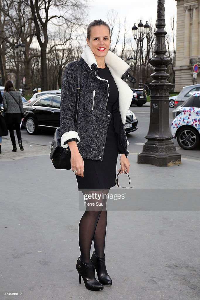 Guy Laroche : Outside Arrivals - Paris Fashion Week Womenswear Fall/Winter 2014-2015