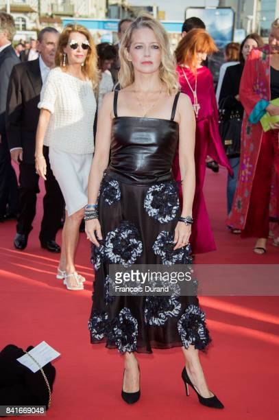 Laure Marsac arrives at the opening ceremony of the 43rd Deauville American Film Festival on September 1 2017 in Deauville France