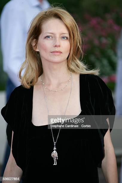Laure Marsac arrives at the premiere of The Bourne Ultimatum during the 33rd Deauville Film Festival