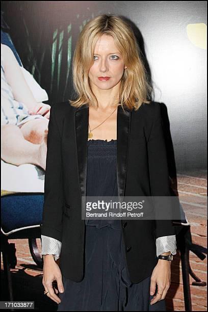 "Laure Marsac at Premiere Of Film ""Somewhere"" At Cinema Gaumont Champs Elysee In Paris."