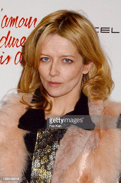 Laure Marsac attends 'L'Amour Dure Trois Ans' Premiere At the Grand Rex on January 7, 2012 in Paris, France.