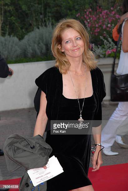 Laure Marsac attends The Bourne Ultimatum Premiere at the CID on September 01 2007 in Deauville France