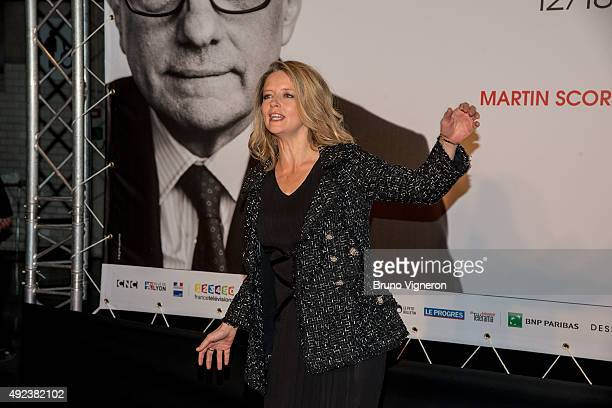 Laure Marsac attends the Opening Ceremony of the 7th Film Festival Lumiere on October 12, 2015 in Lyon, France.