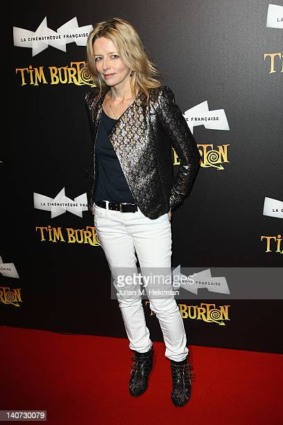 Laure Marsac attends the Tim Burton Exhibition Launch at La Cinematheque on March 5, 2012 in Paris, France.