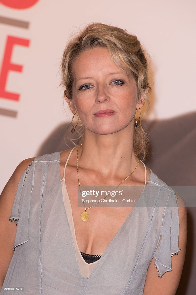 Laure Marsac attends the Tribute to Jean Paul Belmondo and Opening Ceremony of the Fifth Lumiere Film Festival, in Lyon.