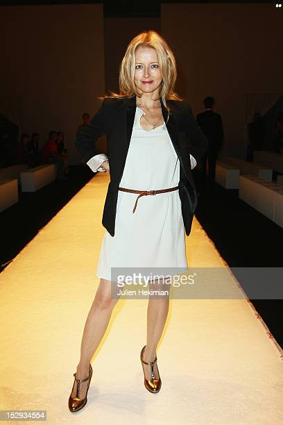 Laure Marsac attends the Vanessa Bruno Spring/Summer 2013 show as part of Paris Fashion Week at Grand Palais on September 28, 2012 in Paris, France.