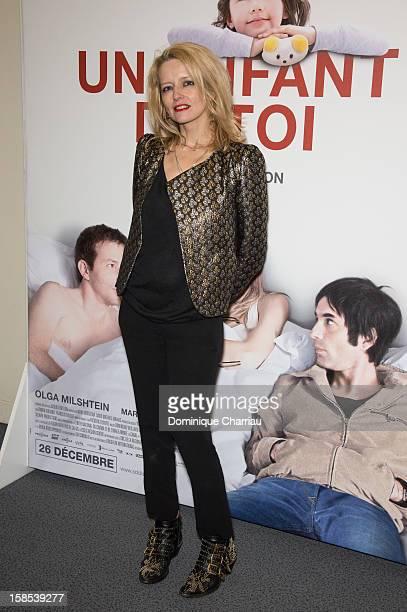 Laure Marsac attends 'Un Enfant De Toi' Paris Premiere at Cinema l'Arlequin on December 18, 2012 in Paris, France.