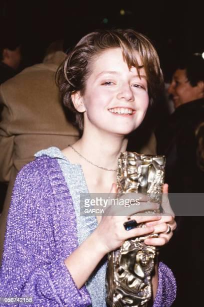 Laure Marsac lors de la 10ème nuits des Césars à Paris en mars 1985 France