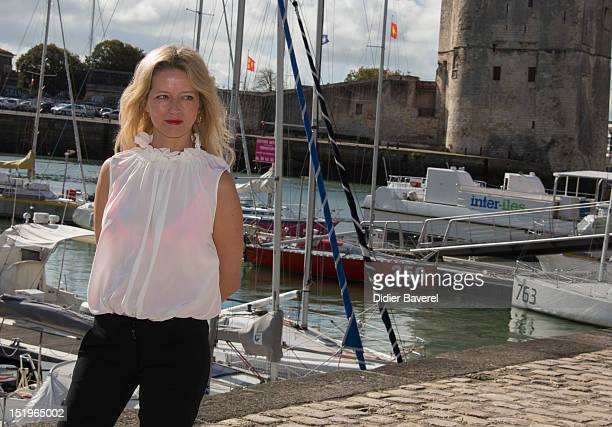 Laure Marsac poses at La Rochelle Fiction Television Festival on September 13 2012 in La Rochelle France