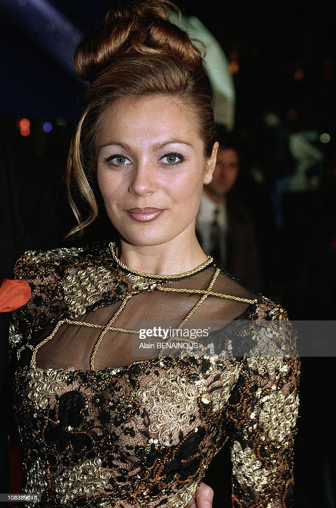 Laure Sinclair in Paris, France on February 06, 1997. News