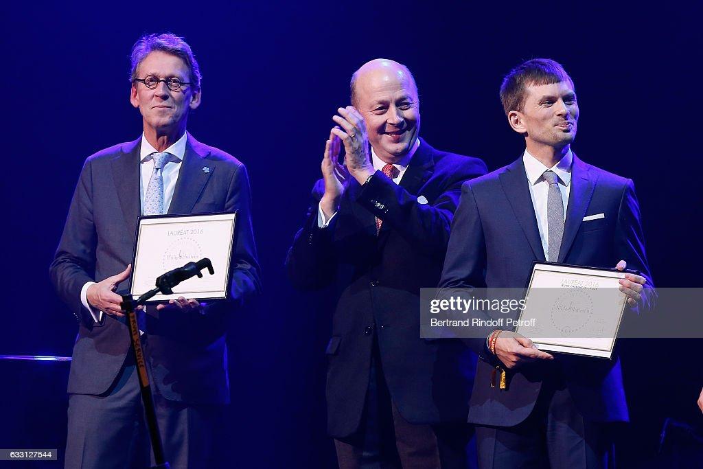 Charity Gala Against Alzheimer's Disease At Salle Pleyel In Paris