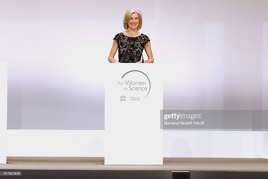 For Women In Science International Awards 2016 Edition - A Ceremony Hosted by Fondation L'Oreal : News Photo