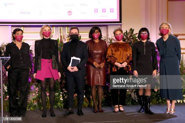 Laureates Mathilde de l'Ecotais, Agnes Pannier-Runacher, Minister Delegate to the Prime Minister, in charge of Equality between women and men,...