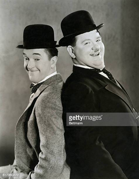 Laurel and Hardy in Sons of the Desert Movie still 1934 BPA2