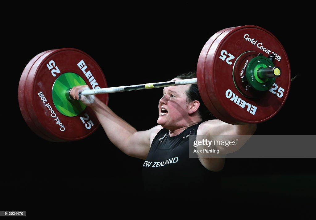Weightlifting - Commonwealth Games Day 5 : News Photo