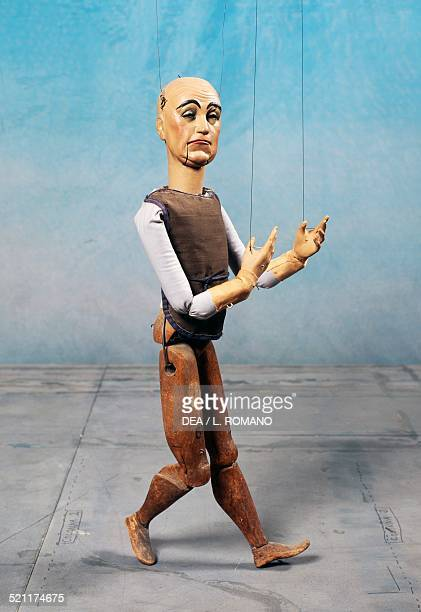 Laurel marionette made by Ambrogio Casati in 1935 Carlo Colla and Sons Marionette Company Milan Italy Italy