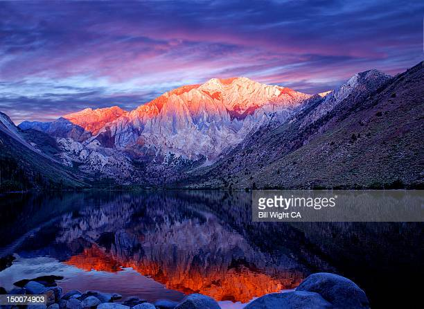 laurel mountain and convict lake - mountain laurel stock pictures, royalty-free photos & images