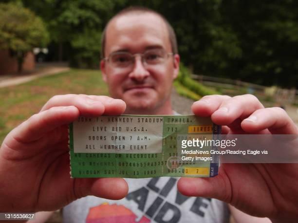 Lauren A. LittleJune 28, 2005Hal T. Cornelison of Brecknock Township still has his Live Aid ticket, t-shirt, and program.
