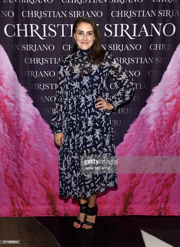 Lauren Adams attends Christian Siriano celebrates the release of his book 'Dresses To Dream About' at the Rizzoli Flagship Store on November 8, 2017 in New York City.