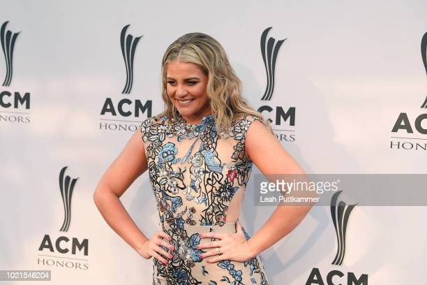 Lauren Alaina attends the 12th Annual ACM Honors at Ryman Auditorium on August 22 2018 in Nashville Tennessee