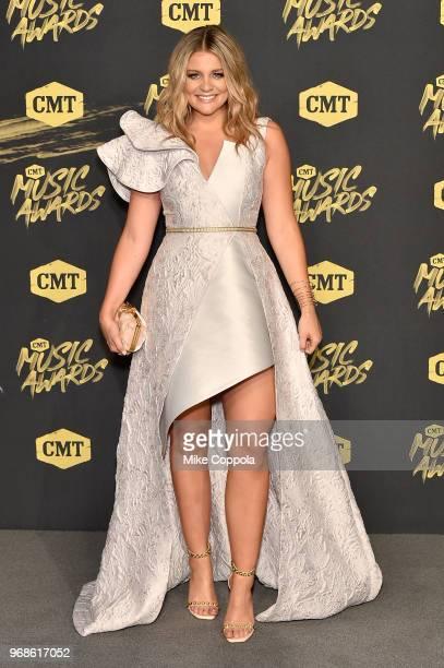 Lauren Alaina attends the 2018 CMT Music Awards at Bridgestone Arena on June 6 2018 in Nashville Tennessee