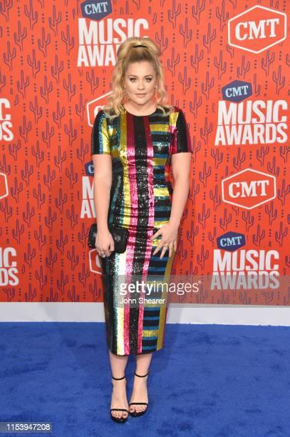 Lauren Alaina attends the 2019 CMT Music Awards at Bridgestone Arena on June 05 2019 in Nashville Tennessee